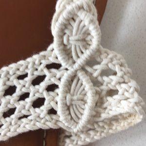 Shoes - Crochet sandals size 8